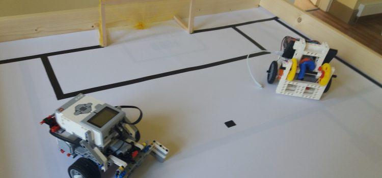 Κατασκευή Τηλεκατευθυνόμενου Ρομπότ LEGO EV3 με σύνδεση κινητού τηλεφώνου μέσω Bluetooth